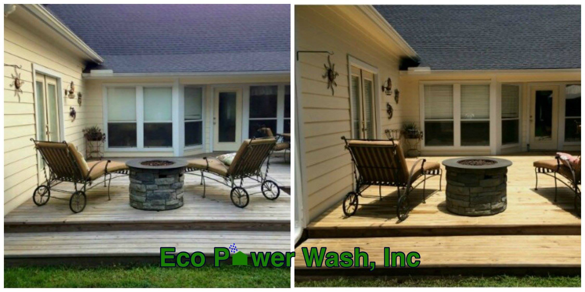 Patio, Porch, Pool and Walkway Areas – Eco Power Wash, Inc
